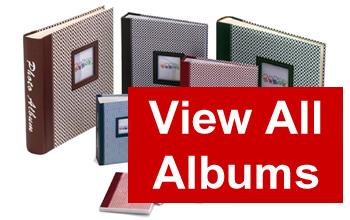 big selection of photo albums