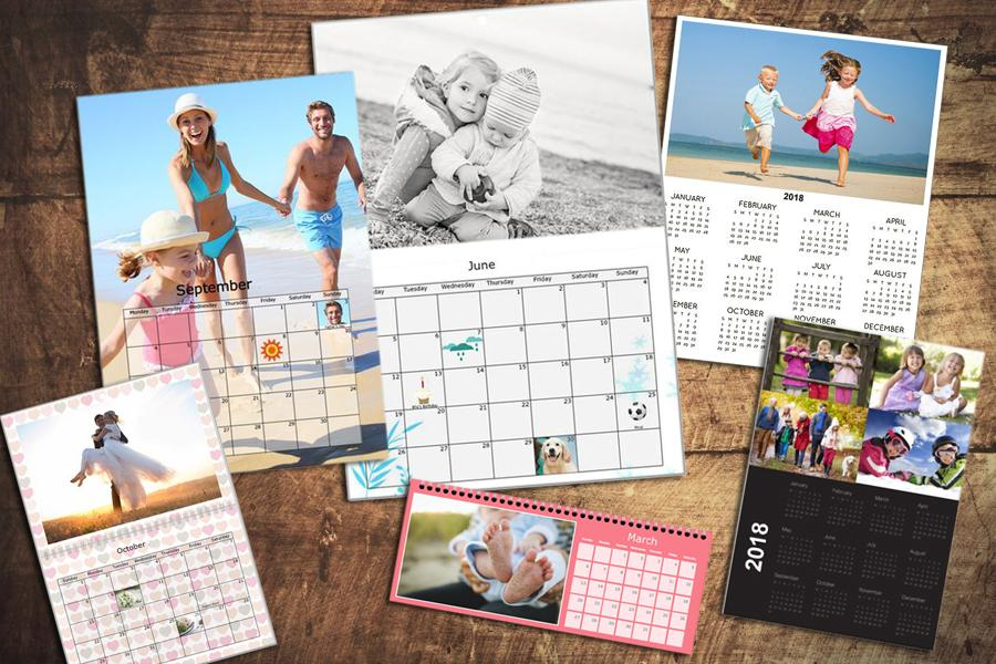choose a theme for your calendar layout
