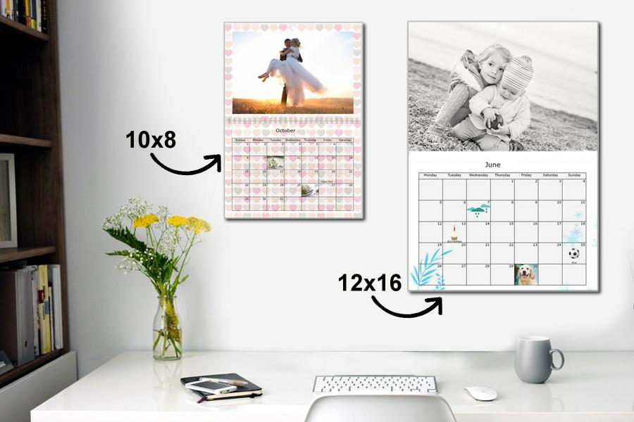 multi page wall calendars