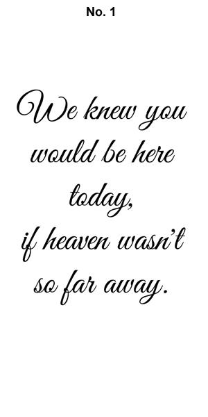 image relating to We Know You Would Be Here Today Free Printable named customized memorial candle holder