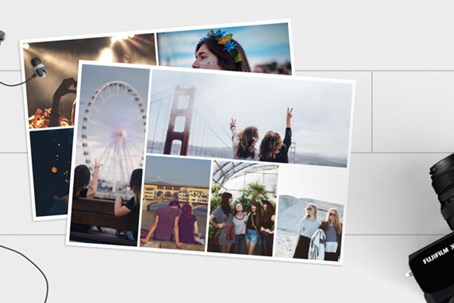 collage photo prints in all sizes