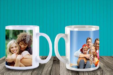 personalised mug with a photo