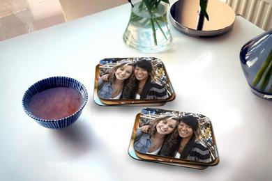 fun coasters personalised with a photo