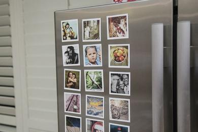 fridge magnet photos
