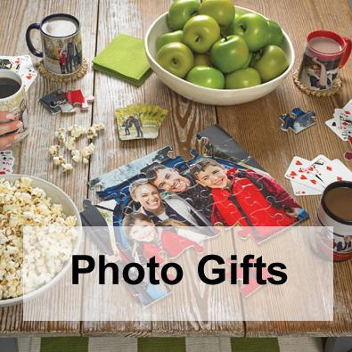 Personalised photo gifts for you to share with your friends and loved ones