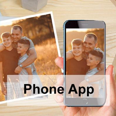 The new phone app so you can print photos from your phone. So easy to use.