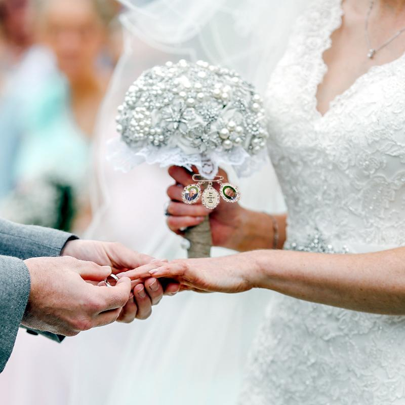 have the memory of your loved ones by your side on your wedding day