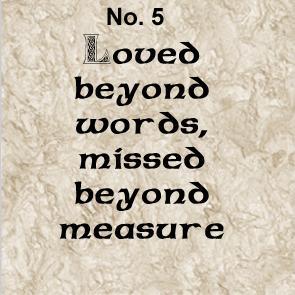 memory charm verse 5