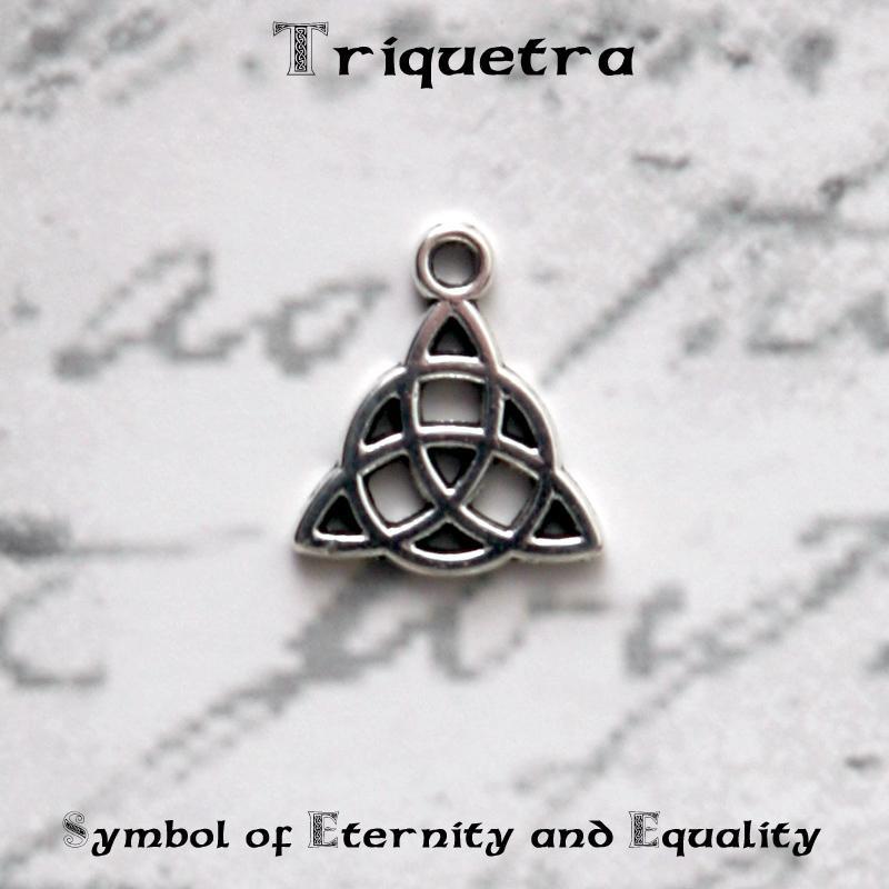 irish celtic triquetra symbol