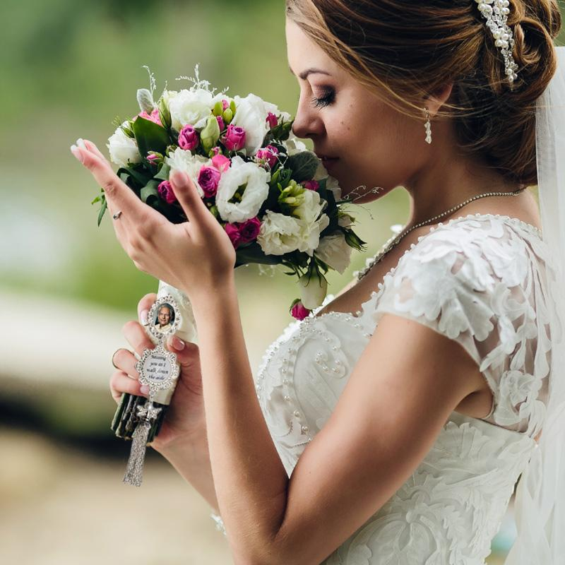 a loved one treasured on your wedding day