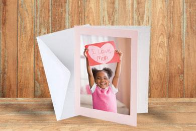 mother's day folding personalsied cards