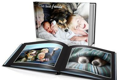 a4 size hard cover photo book