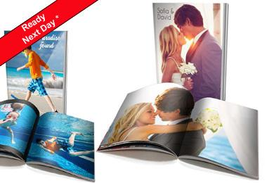 soft cover personalsied photo book 8x6 size