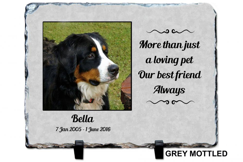 Pet Memorial Grave Plaque