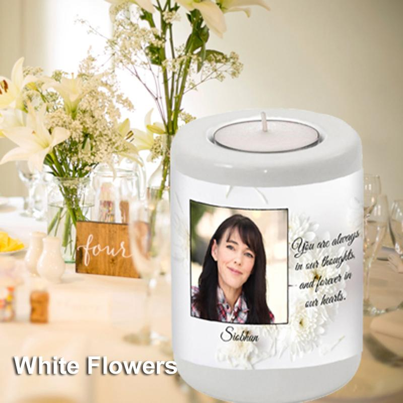 Memorial Candle Holder Personalised