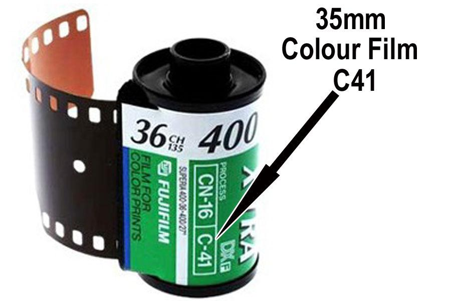 2.  35mm Colour Film Developing & Scan To Google Drive