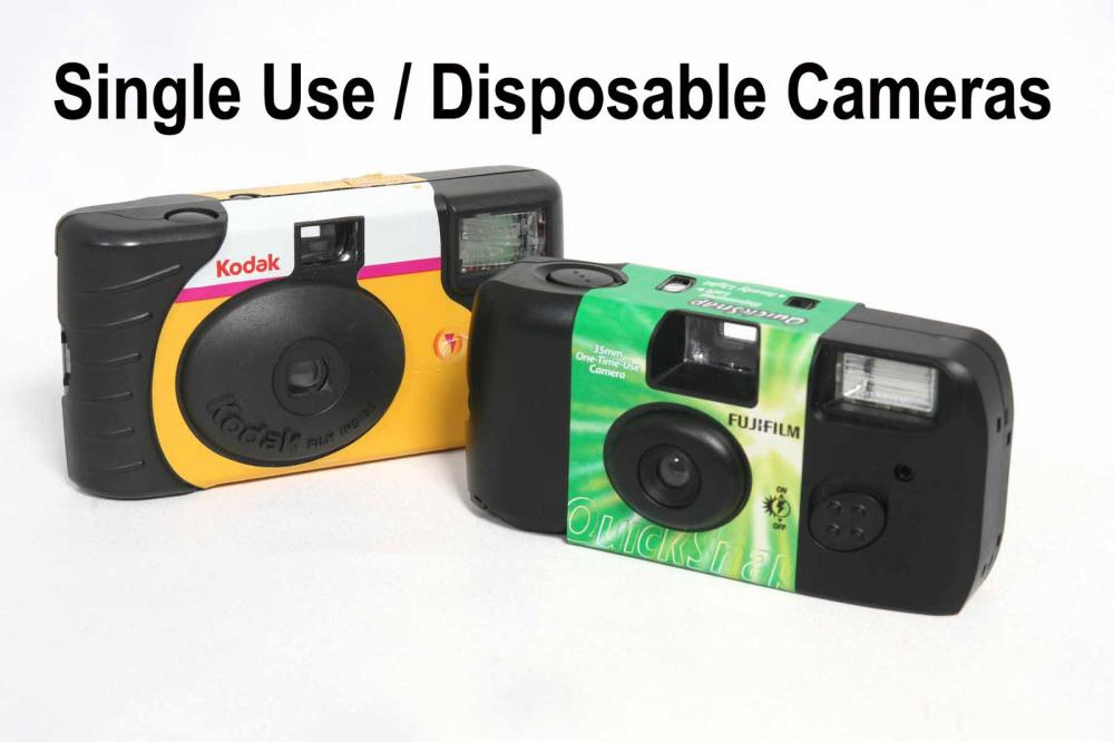 7.  35mm Colour Film & Disposable Camera Developing & 6x4 Prints