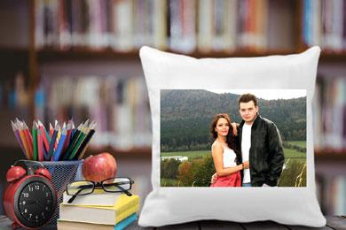 photo cushion for valentine's day